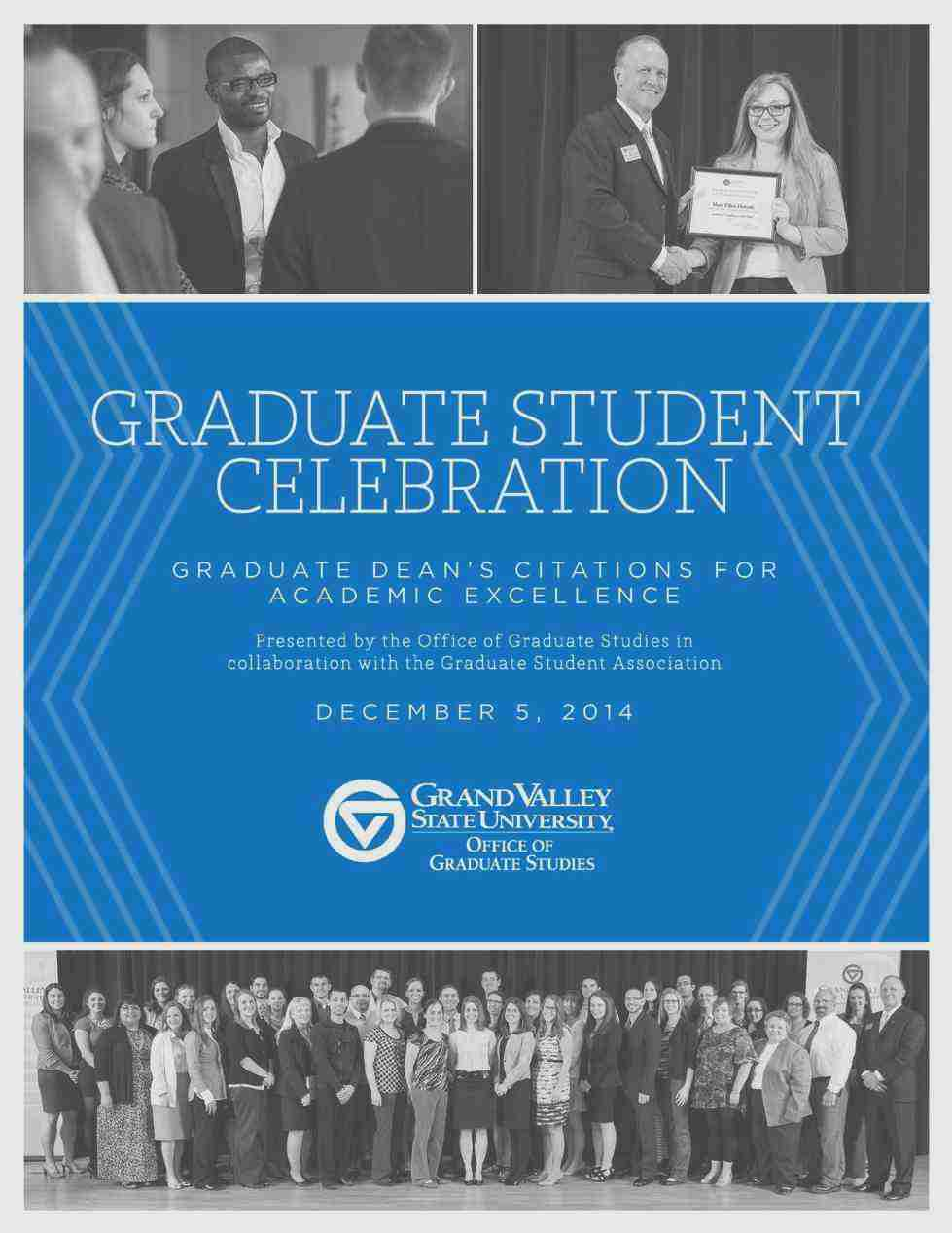 Dean's Citation Awards Fall 2014